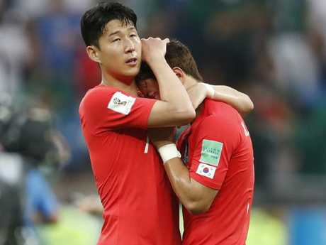 South Korea's Son Heung-min is familiar with losing from his time at Tottenham.