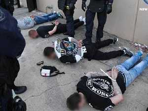 Police release images of bikie crackdown