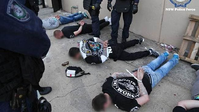 NSW Police strke force Raptor bikie arrests in past two months. Source: NSW Police