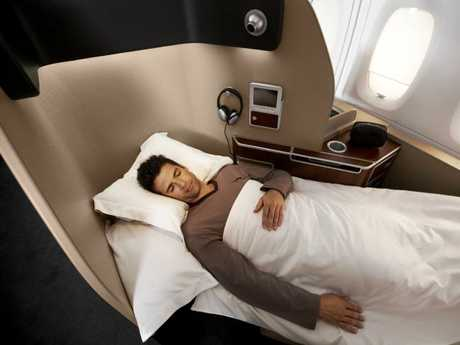 Your friends are flying first class on you. Picture: Qantas
