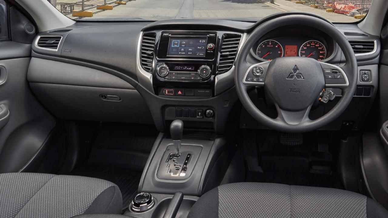 This interior photo is of an earlier version of the GLX+. The radio unit is now solely a touchscreen and the volume knob has been deleted. Picture: Supplied.
