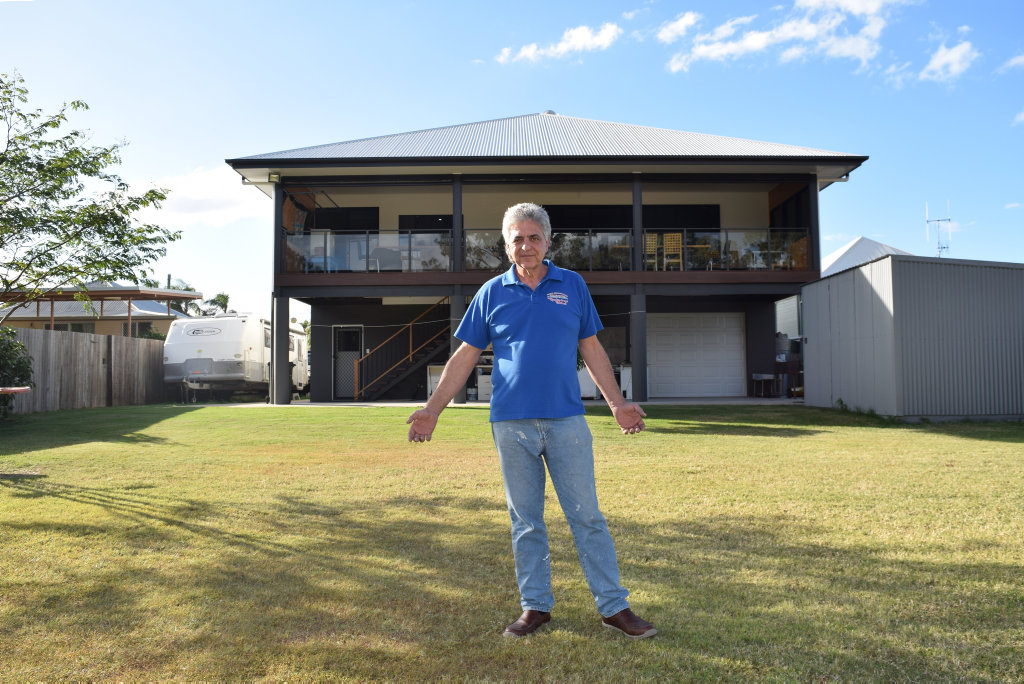 DISAPPOINTED: John Sidorczuk said he wouldn't leave his dream home behind unless he got paid as much as he'd spent building it.
