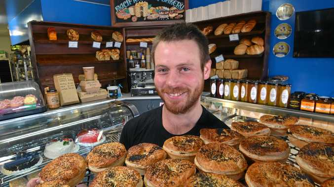 HOT COMPETITION: Pacific Haven Bakery co-owner Glen Stoke is celebrating after his beef chilli pie was named the best in Australia.