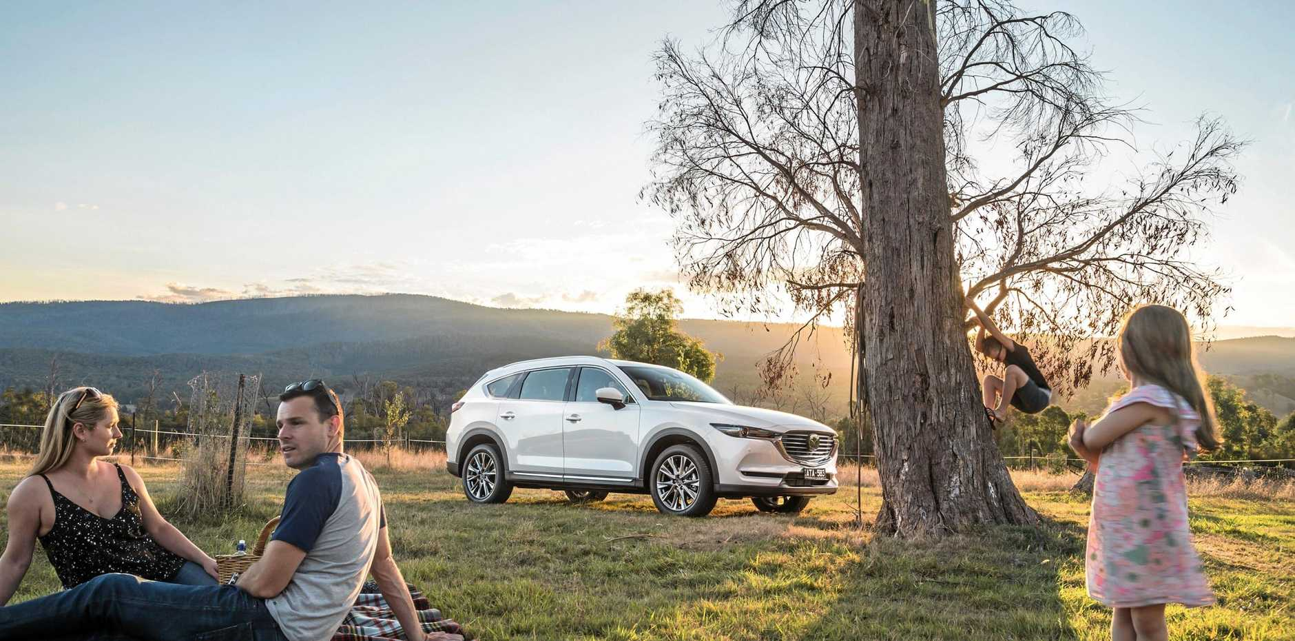 LUXURIOUS LAUNCH: The Mazda CX-8 will be launched from Hervey Bay today.