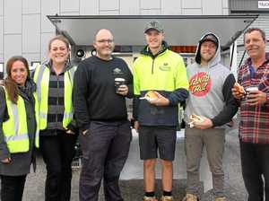 PHOTOS: Tradie breakfast had thanks on the menu