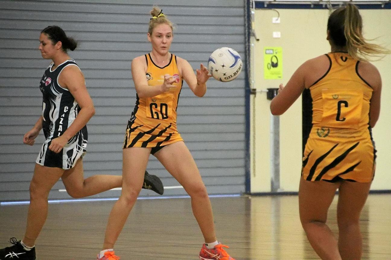 Yasmin Ramsay in action