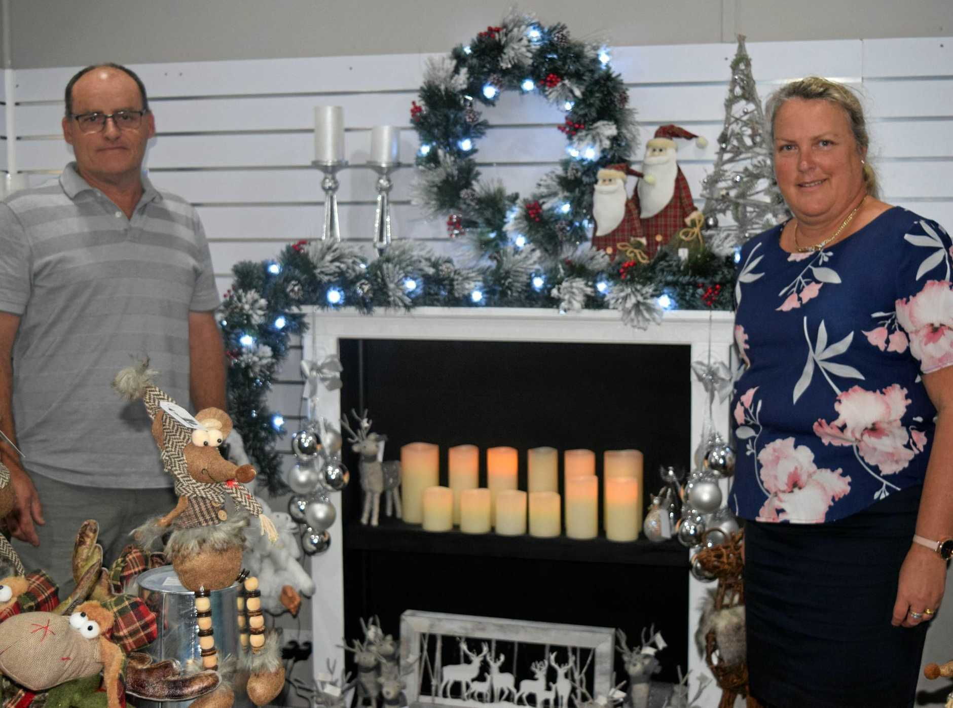 CHRISTMAS IN JULY: Grant and Jenny Wood's new Tiaro Christmas Cottage means customers can celebrate Christmas in July, or almost any time.