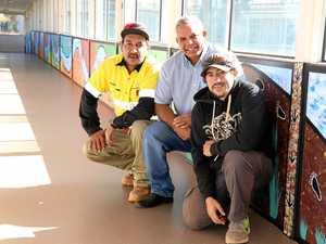 Aboriginal river story adds splash of colour