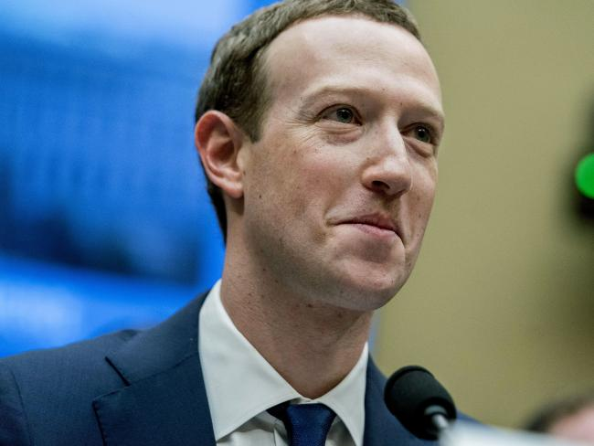Facebook CEO Mark Zuckerberg testifies after the tech giant's data leak.