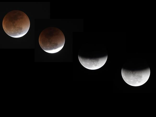 The eclipse will begin early in the morning on July 28. Picture: AFP