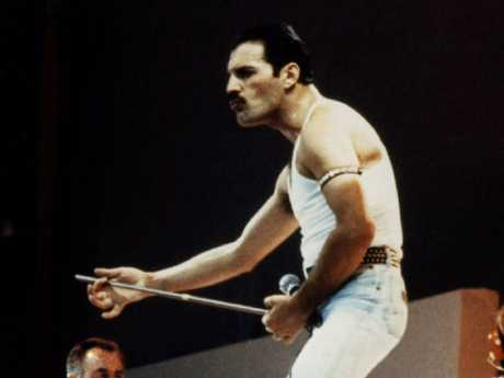 Freddie Mercury, the late lead singer for Queen. Picture; Supplied