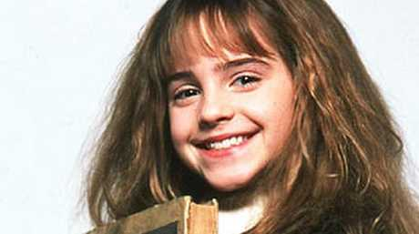 Emma Watson as Hermione in the Harry Potter movie. Picture: Supplied