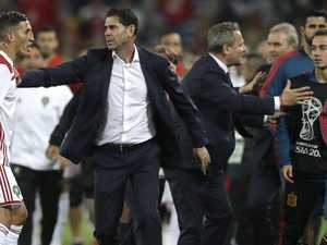 Hierro ends short reign as Spain coach