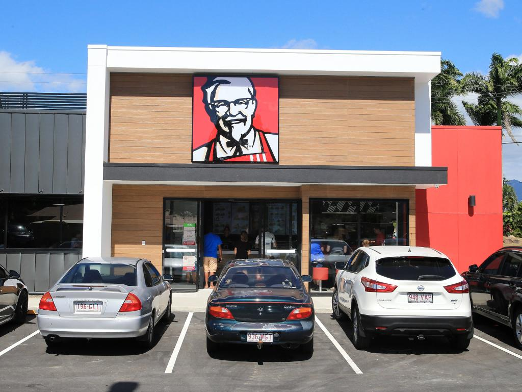 The new KFC store at Edmonton which opened for the first time on the south side of Cairns in March. Picture: Justin Brierty