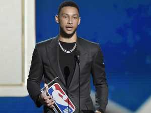 Simmons crowned NBA rookie of the year