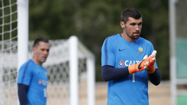 Mat Ryan has ensured he'd have a strong backing in the crowd in Russia.