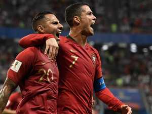 Ronaldo misses penalty as Iran make Portugal squirm