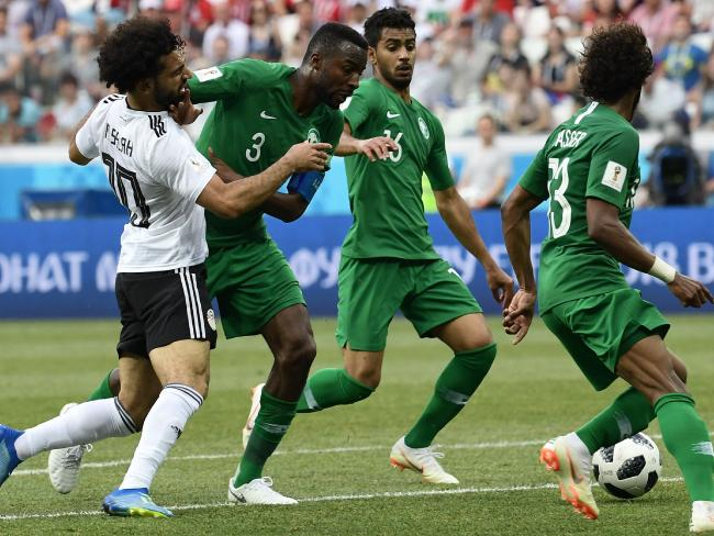 The Saudis are obviously aware of Mohamed Salah's qualities.