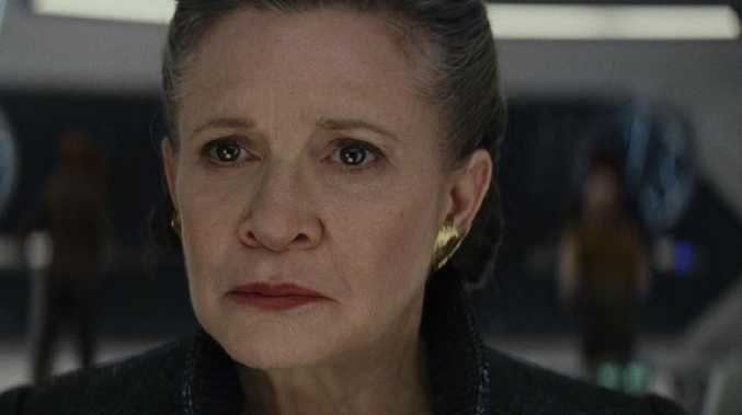 Star Wars: The Last Jedi. General Leia (played by Carrie Fisher) Photo: Lucasfilm Ltd. © 2017 Lucasfilm Ltd