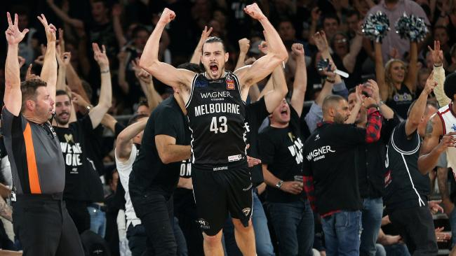 Chris Goulding played a major role in Melbourne United's title win. Picture: AAP Images