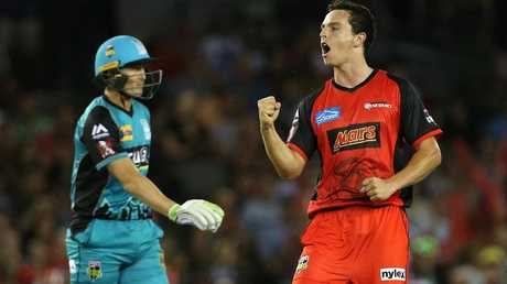 Jack Wildermuth impressed playing for the Melbourne Renegades last season.