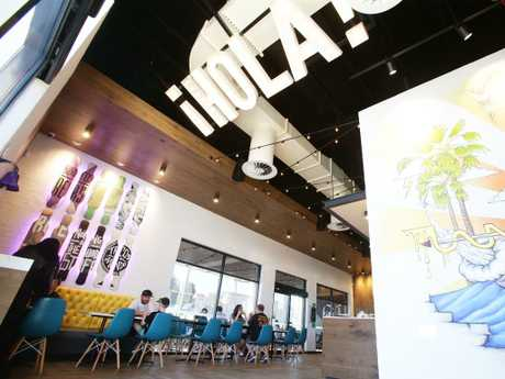Taco Bell in Annerley, Brisbane. Taco Bell is expanding to Logan. Picture: AAP