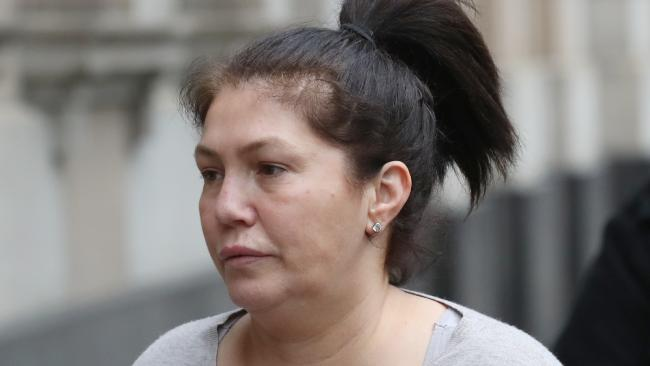Roberta Williams arrives at the Victorian Supreme Court on Tuesday, June 26. 2018. Picture: David Crosling