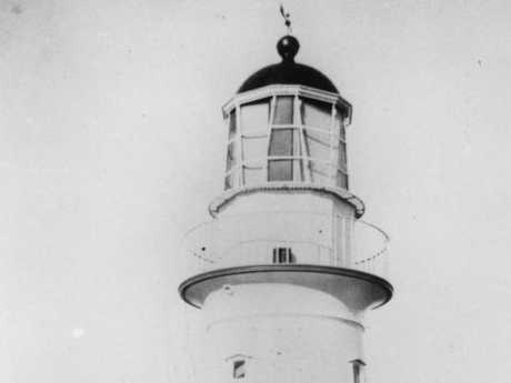 The Bustard Head Lighthouse in its early days.
