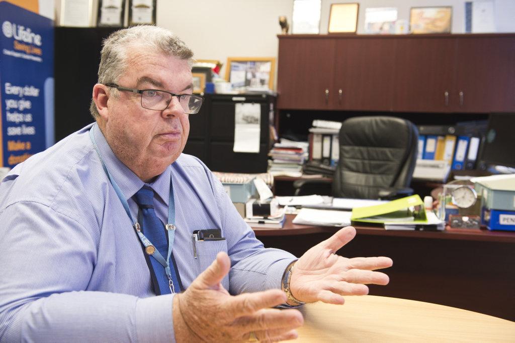Lifeline Darling Downs chief executive officer Derek Tuffield