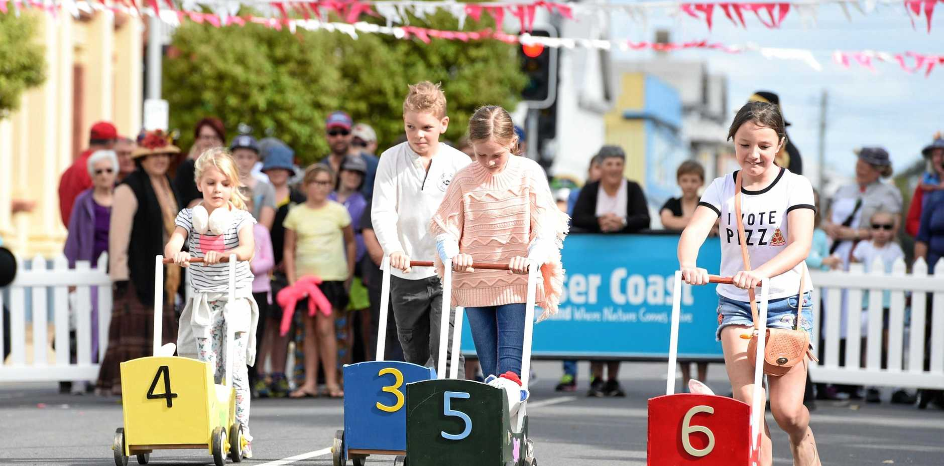 So much to do at Mary Poppins in the Park including the great childrens nanny race.