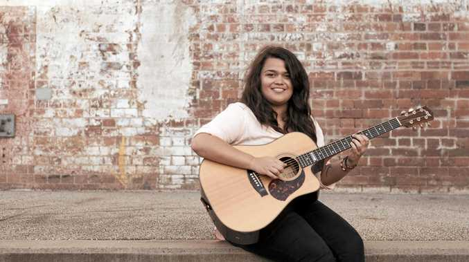 RISING STAR: Finger-style guitarist Sarah Koppen will perform as part of the Acoustic Guitar Spectacular coming to Gladstone on July 13.