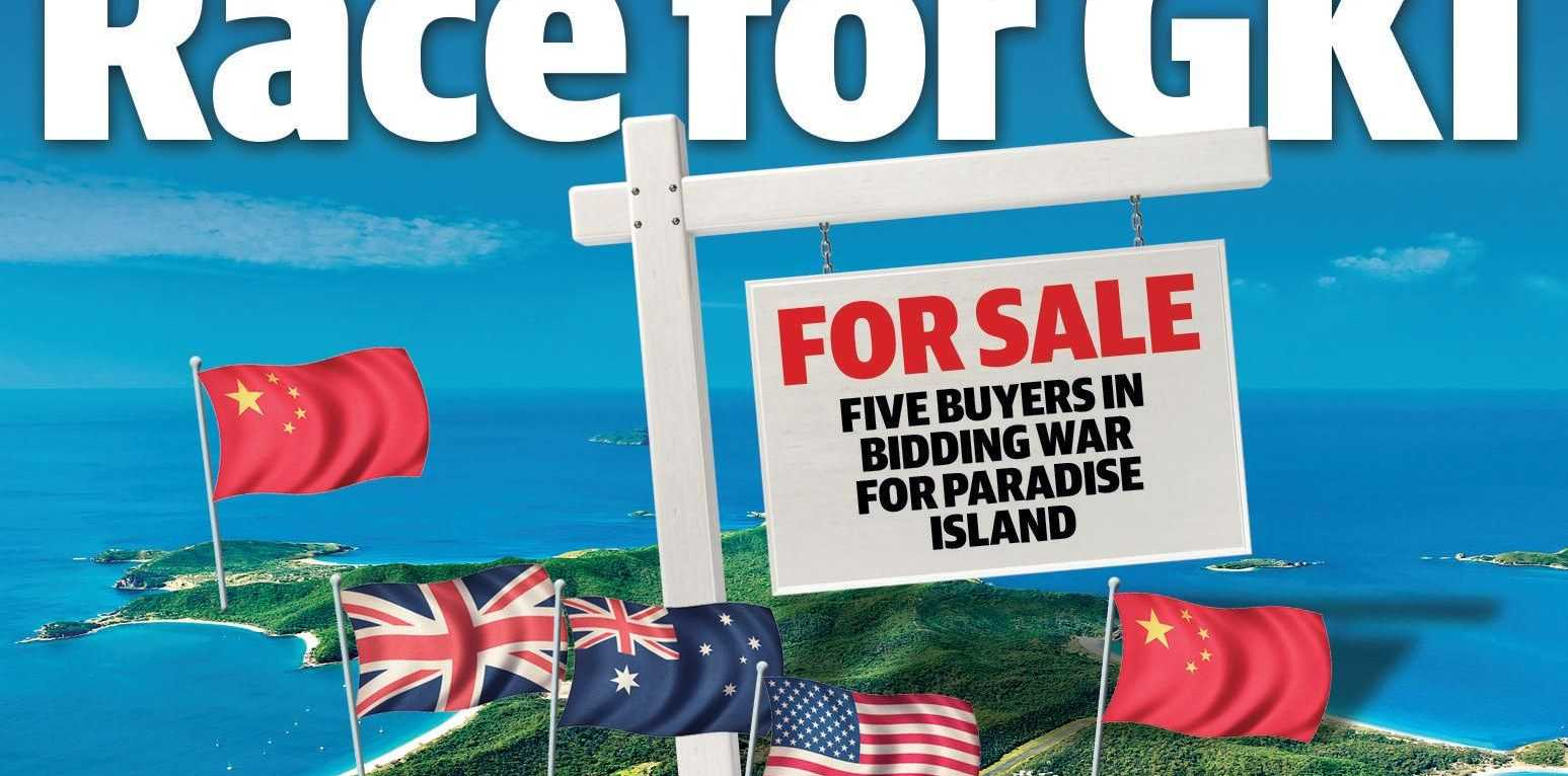 THE GREAT RACE: Four internationals and one Australian bidder have been revealed as contenders for the purchase of the Great Keppel Island resort development.