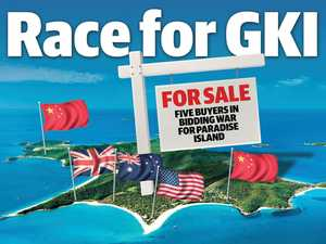 Five contenders in the great race to buy pristine GKI island