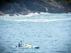 Solo kayaker feels the brunt of the Tasman