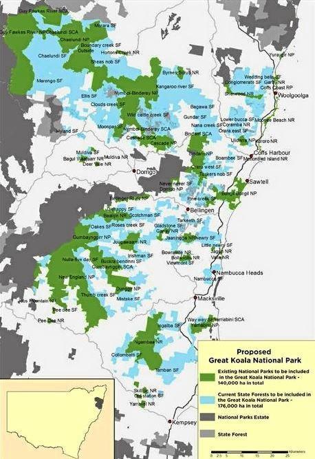 The Great National Koala Park.