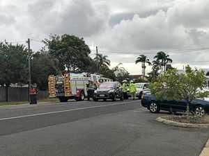 Two-car crash on busy Bundaberg street