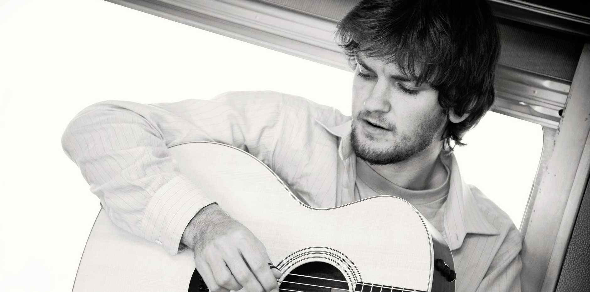MUSICIAN: Australian singer, songwriter and guitar virtuoso Daniel Champagne.