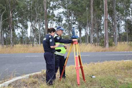 A man has died in a crash along the Bruce Hwy at Wallaville.
