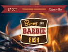 Welcome to Brews and Barbie Bash! 