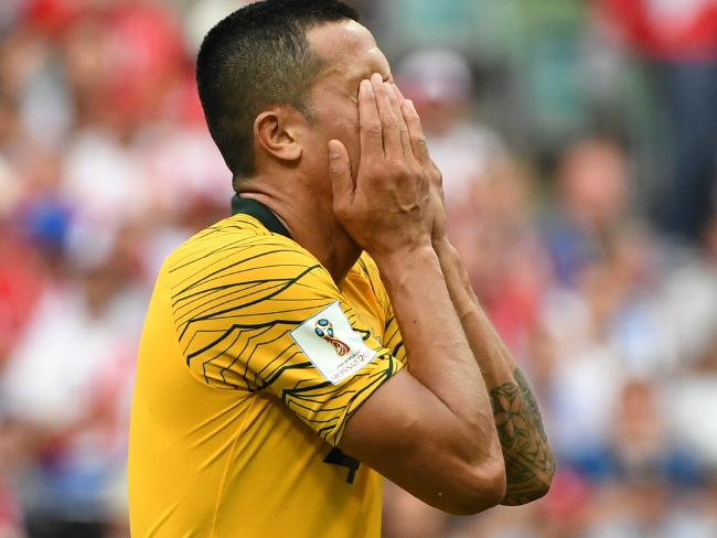 Tim Cahill couldn't save the Aussies this time.