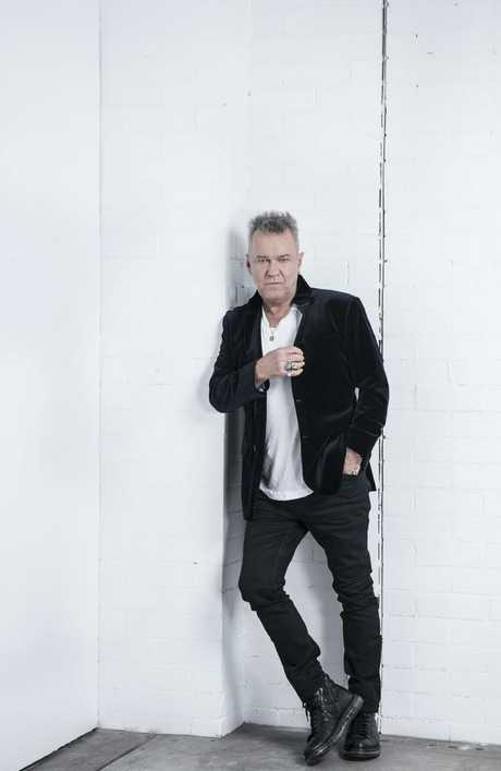 Jimmy Barnes walked the streets of his childhood trauma for a new documentary. Picture: Nic Walker