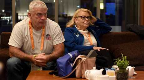 Bulldogs boss Lynne Anderson and husband Chris Anderson are trying to be proactive in the fallout. Picture: Sport the Library/Jeff Crow