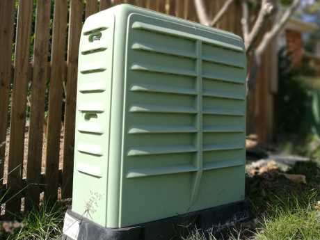 The proud new nbn box outside the author's residence — which is not currently providing services.