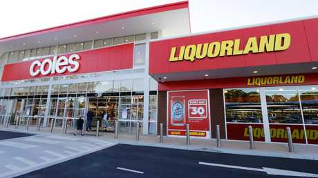Coles' Liquorland is one of the country's biggest alcohol retailers.