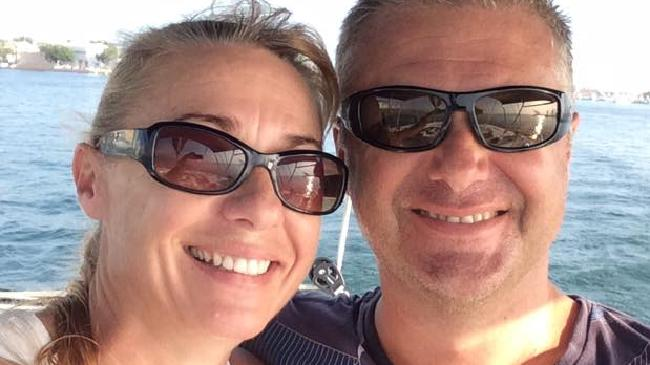 Yvette and John Nikolic's 'romantic adventure' has ended in a dramatic raid, an arrest and with Mr Nikolic fighting for life.