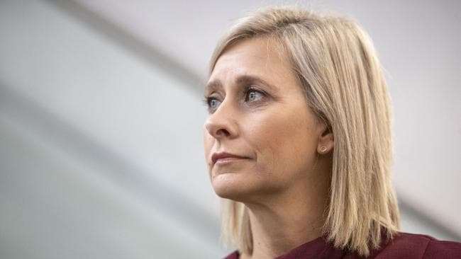 Labor's candidate for Longman Susan Lamb has a fight on her hands to retain the seat. Picture: AAP/Glenn Hunt