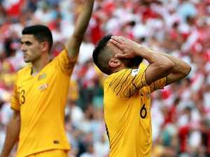Socceroos spray: 'It's time we give up'