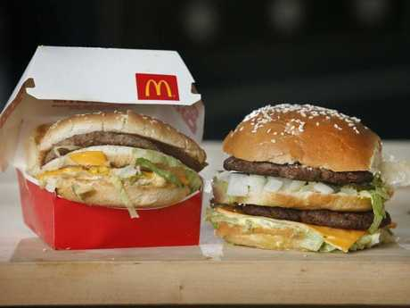 Around the world, McDonald's is losing money, but not in Australia. Picture: David Caird