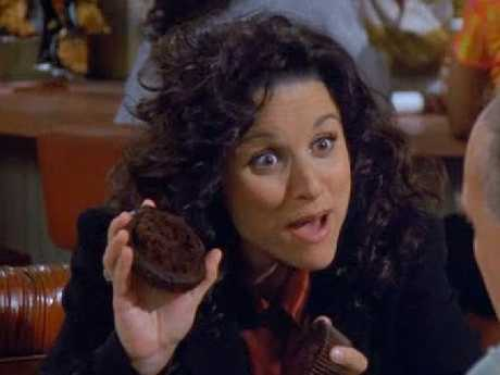 Elaine came up with the idea of selling muffin tops in an episode of Seinfeld.