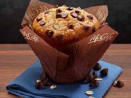 Imagine. Just the top of the muffin.